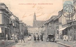 FLEURY SUR ANDELLE - Grande Rue (côté Eglise) - France