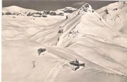 SUISSE (VALAIS). RESTAURANT BELLA-LUI. CRANS MONTANA. DORTOIR. 1961. - VS Valais