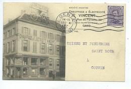 Gand Chauffage Et Electricité Vincent Vers Couvin - Gent