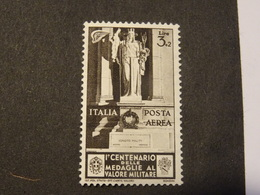 ITALIA  ITALY  ITALIE  1934  Aerien  NEUF*  Médaille Militaire - Nuevos