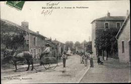 Cp Bulgnéville Lothringen Vosges, Avenue De Neufchâtel - Autres Communes
