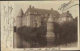 Cp Champcevrais Yonne, Le Château - Francia