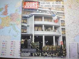 Jour De France N°184 24 Mai 1958  Alger Paris Les Photos Des Journées Historiques/14-18/ Jacquelines Huet/ Martine Carol - Gente