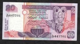 Sri Lanka :: 20 Rupees 1992 - Sri Lanka