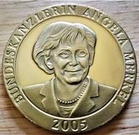 Allemagne. Médaille Chancelière Angela Merkel 2005. BE Neuve - Zonder Classificatie