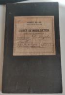 Livret De Mobilisatie Classe 1915 - Dokumente