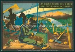 Militari Fascismo 3 Compagnia Genio Divisione Alpina Julia 11 Reggimento  FG M164 - Italien