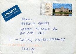 54286  Germany, Cover Circuled Wqith Postmark WWF - Brieven En Documenten