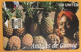 ANANAS DE GUINÉE 150U SOTELGUI TÉLÉCARTE PHONE CARD UT TELECARTE - Guinee