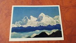 Nicholas Roerich - Everest - Tibet - HIMALAYA - Tibet   - Old USSR PC 1974 - Tibet