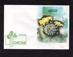 LSC  - CACTUS Sur Bloc De AFGHAN POST - Sukkulenten