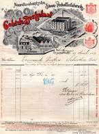 Antwerpen Anvers Ossendrecht Woensdrecht De Beukelaar  Factuur 1907 - 1900 – 1949