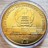 Allemagne. Médaille Doré Or Fin Football Coupe Du Monde 2006 Corée Du Sud. Neuve - Zonder Classificatie
