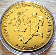 Allemagne. Médaille Doré Or Fin Football Coupe Du Monde 2006 Angleterre. Neuve - Zonder Classificatie