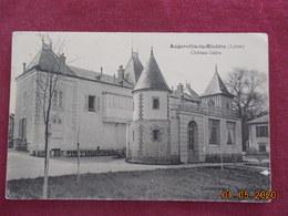 CPA - Augerville-la-Rivière - Château Ledru - Francia