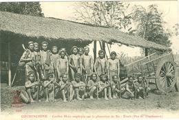 Coolies Moïs Plantation Xa-Trach - THUDAUMOT - TBE - Viêt-Nam