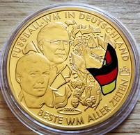 Allemagne. Médaille Doré Or Fin. Football Coupe Du Monde 2006. Neuve - Zonder Classificatie