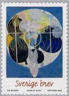 Sweden - 2020 - Art - Hilma Af Klint - Figure Painting No. 5 - Mint Self-adhesive Coil Stamp - Nuovi