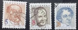 Slovaquie >1993 Oblitérés  N° 137/139 - Slowakische Republik