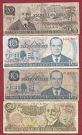 Costa Rica 8 Billets Dans L 'état - Costa Rica