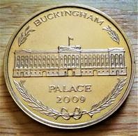 Médaille Tower Mint. Londres - Palais De Buckingham Palace 2009 - Royaume-Uni