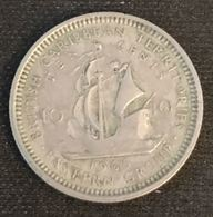 BRITISH CARIBBEAN TERRITORIES - 10 CENTS 1965 - Elizabeth II - 1ère Effigie - KM 5 - East Caribbean States