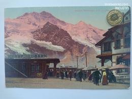 Station Scheidegg Mit Jungfrau, Belebt, 1922 - BE Bern