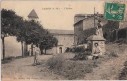 Lot-15 - Alpes Maritimes - Cabris - L'église - Frankreich