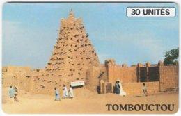 MALI A-058 Chip SoTelMa - Culture, Rural Village - Used - Mali