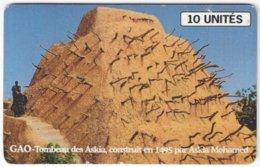 MALI A-063 Chip SoTelMa - Culture, Historic Building - Used - Mali