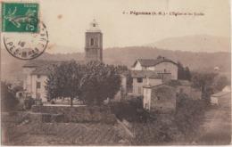 Lot-15 - Alpes Maritimes - Pégomas - L'église Et Les écoles - Frankreich