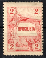 Serbia SHS Yugoslavia - Culture Cultural Charity CINDERELLA VIGNETTE LABEL Falcon GLOBE Earth Angel - MNH - Bienfaisance