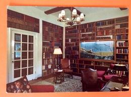 Bibliothèque Kent Chartwell The Library Modèle Offre The Mulberry Harbour Nombreux Livres Ouvrages - Postcards