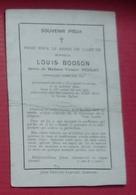 ANDENNE - COUTISSE - Faire-part De Décès De Louis BODSON - Conseiller Communal - Overlijden