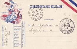 Correspondance Militaire / Honneur Patrie. - Guerre De 1914-18