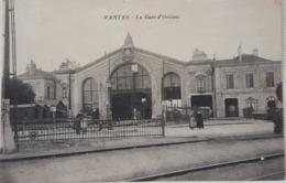 Carte Postale Ancienne - NANTES - La Gare D'Orléans  - Année 1922 - Nantes