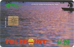 Peru - Telepoint - Yarinacocha Lake Puzzle Piece 3/4, 10Sol, 22.000ex, Used - Perú