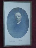 Pastoor Henri Meuleman Né à Laeken 1849 Et Décédé à Gand 1922       (2scans) - Religion & Esotérisme