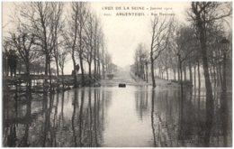 95 ARGENTEUIL - Crue De La Seine - Rue Nationale - Argenteuil