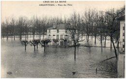 95 ARGENTEUIL - Crue De La Seine - Place Des Fêtes - Argenteuil