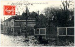 95 ARGENTEUIL - Crue De La Seine - >le Quai De Seine - Argenteuil