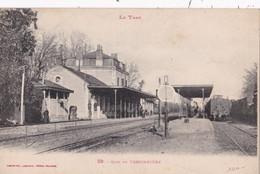 CPA/DEP81/044...........TESSONNIERE ....GARE - France