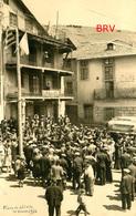 Photo: Llivia: Café Ventura, 1936, Plaça Major, Photo Of Old Postcard, 2 Scans - Lieux