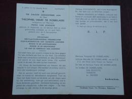 Theophiel De Dobbelaere - Van Schoote Geboren Te Assenede 1881 En Aldaar Overleden  1963       (2scans) - Religion & Esotericism