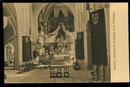 Alcaraz Interior De La Iglesia De La Trinidad Pedro Roman - Espagne