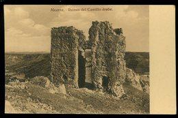 Alcaraz Ruinas Del Castillo Arabe Pedro Roman - Espagne
