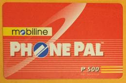 PHILIPPINES MOBILINE PHONE PAL RECHARGE GSM PILTEL PRÉPAYÉE PREPAID PHONECARD PAS TÉLÉCARTE - Philippines