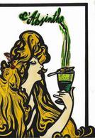 CPM Absinthe Femme Women Par Jihel Tirage Limité En 20 Exemplaires Numérotés Signés Original - Andere Illustrators