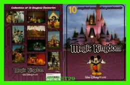 WALT DISNEY WORLD - ENVELOP ONLY FOR 10 MAGICAL MEMORIES POSTCARDS OF MAGIC KINGDOM - - Disneyworld