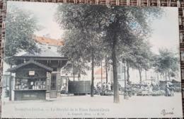 Ixelles : Marché Place Sainte Croix - Elsene - Ixelles